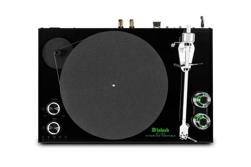 McIntosh MTI100 Turntable analog or digital speaker system