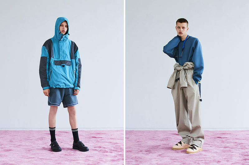 MEANSWHILE spring summer 2019 lookbook japan collection hiking danner foot the coacher technical outdoors
