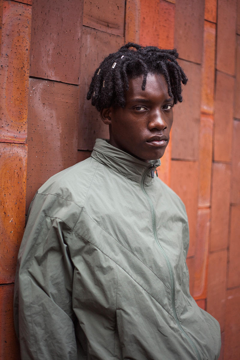 25faf4122238 MINOTAUR Spring Summer 2019 Lookbook gradient jackets army wrinkles  ventilation coat coveral menswear collection ss19