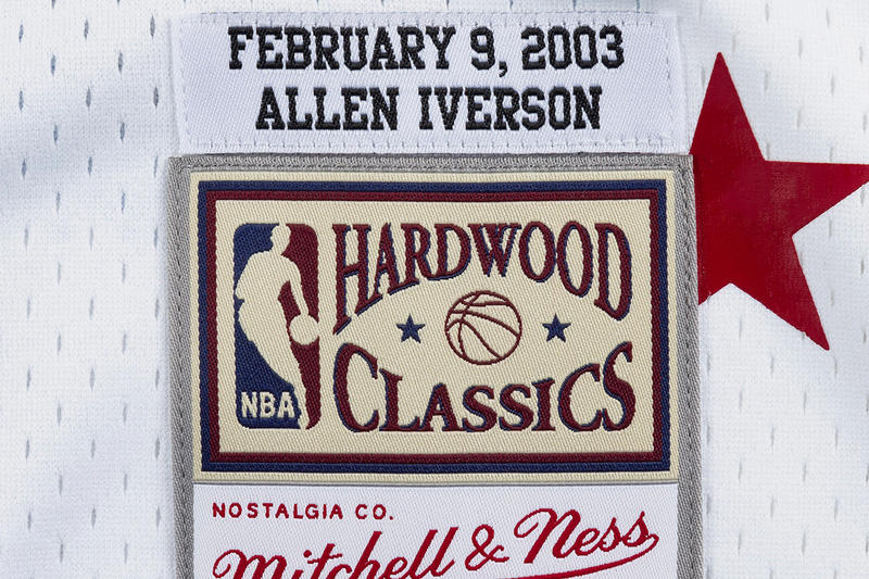 Mitchell & Ness NBA All-Star Pack basketball jerseys swingman jerseys iverson