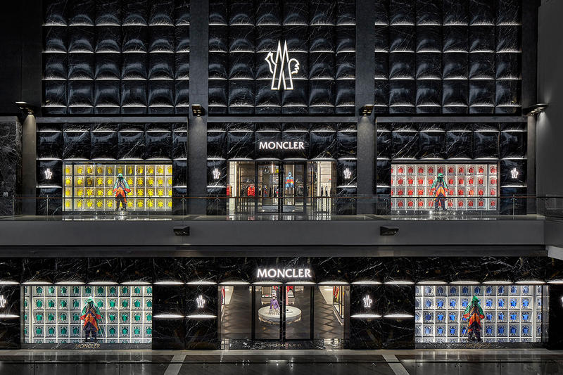 3af201b6a4 Moncler Singapore Marina Bay Sands Inside Look retail store closer The  Shoppes Asia shopping retail