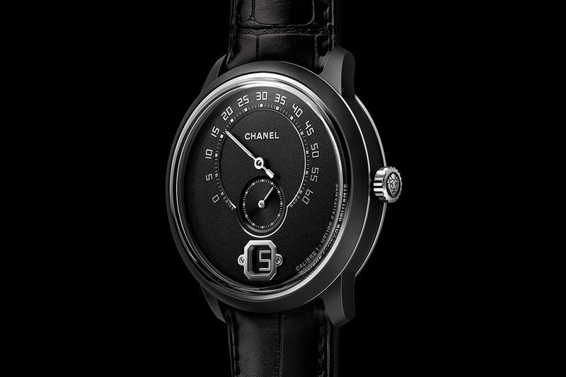 Monsieur de CHANEL Edition Noire Release Info Date all black