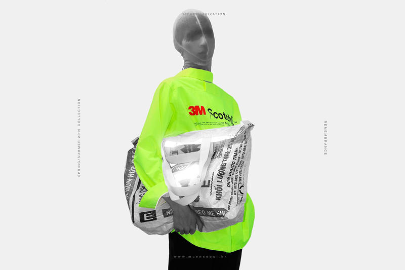 MÜNN korea munn spring summer 2019 collection campaign nike ready player one 3m scotchlite