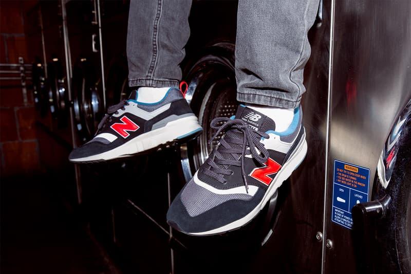 New Balance 997H 2019 Lookbook rain cloud castle rock magnet white classic sneaker silhouette