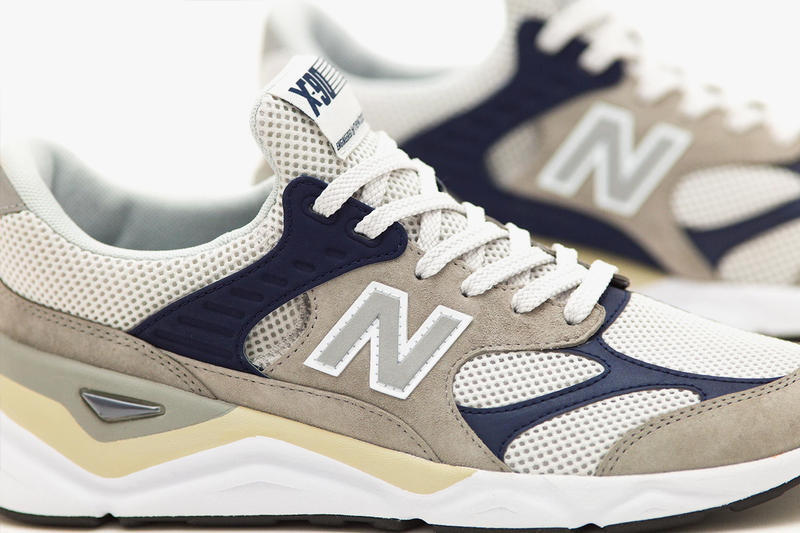 BEAUTY & YOUTH x New Balance X-90 Release Info pricing stockist navy gray 3m detailing collaboration sneaker trainer