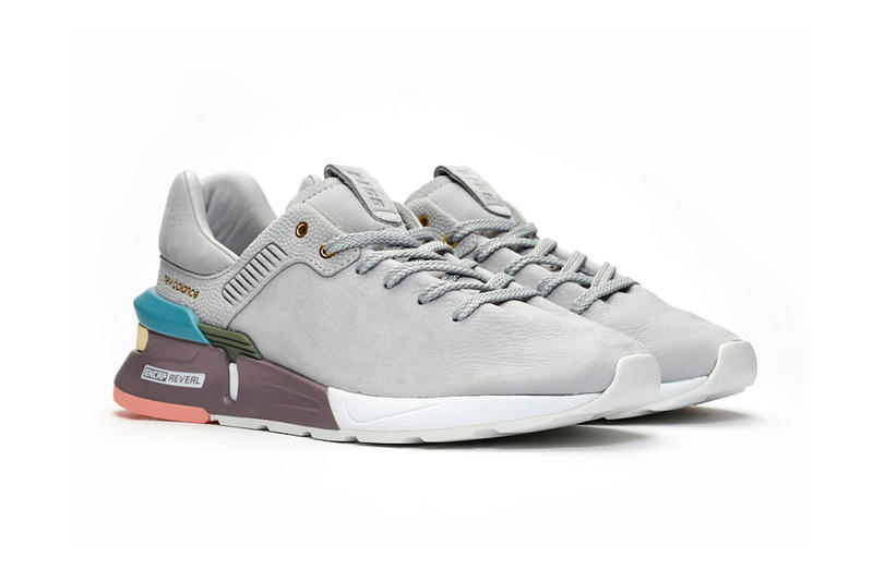 New Balance 997 MS 2019 Chunky Sneaker Sole Tonal Minimalist Leather Suede Colorblock Trainer SS19