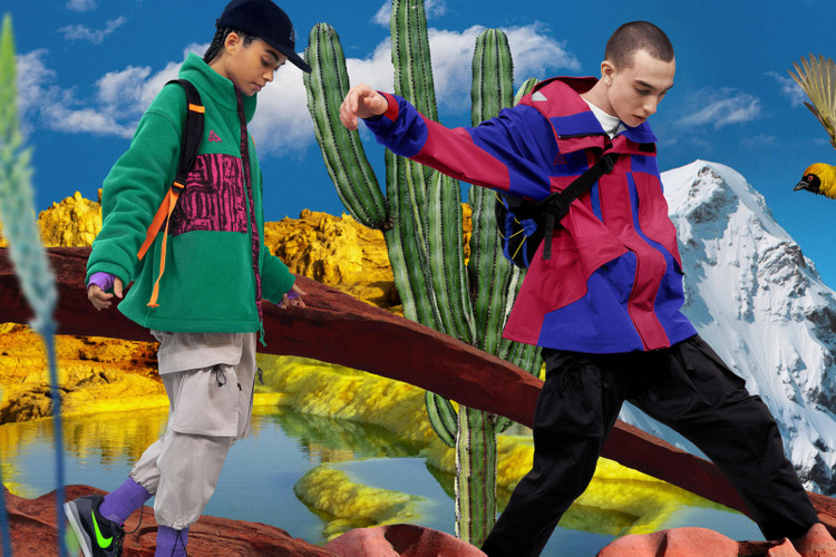 huge selection of 0ddb4 a73ed Nike ACG Channels Colors of the  90s for Spring 2019