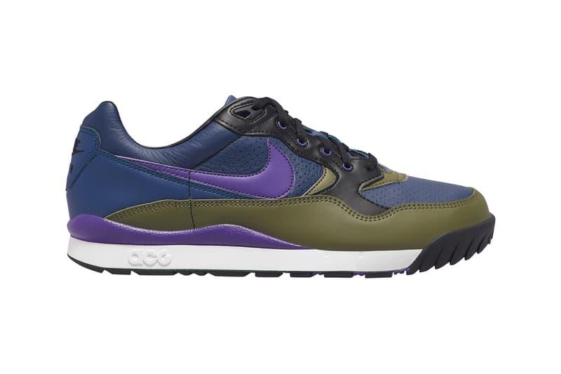 Nike ACG Air Wildwood 2019 Colorways Release Orange Black White Purple Blue Green Olive Beige Burgundy