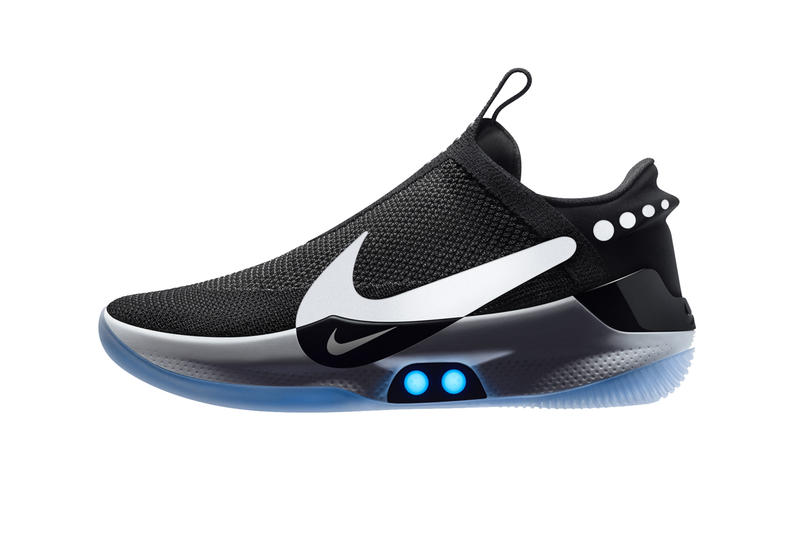 e72961d87 Nike Adapt BB Self Lacing Basketball Sneaker sneakers shoes fitadapt power  app smartphone lights fit flywire