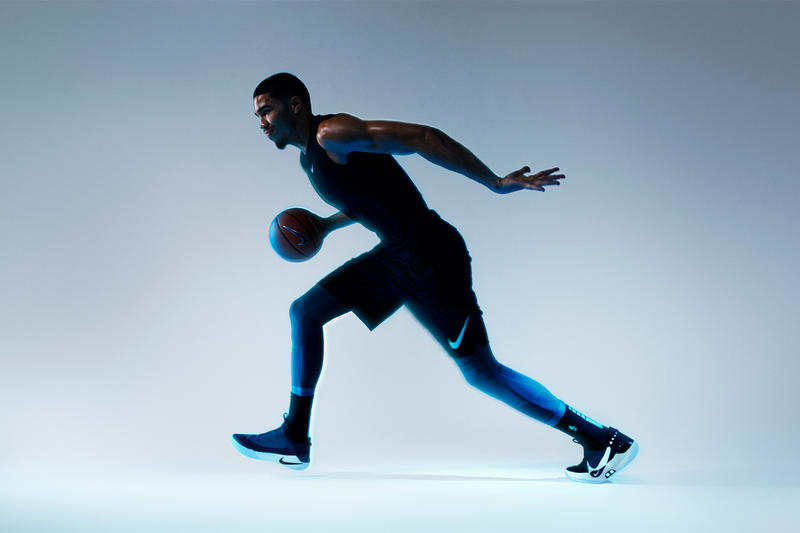 Nike Adapt BB Self Lacing Basketball Sneaker sneakers shoes fitadapt power app smartphone lights fit flywire flyknit jayson tatum