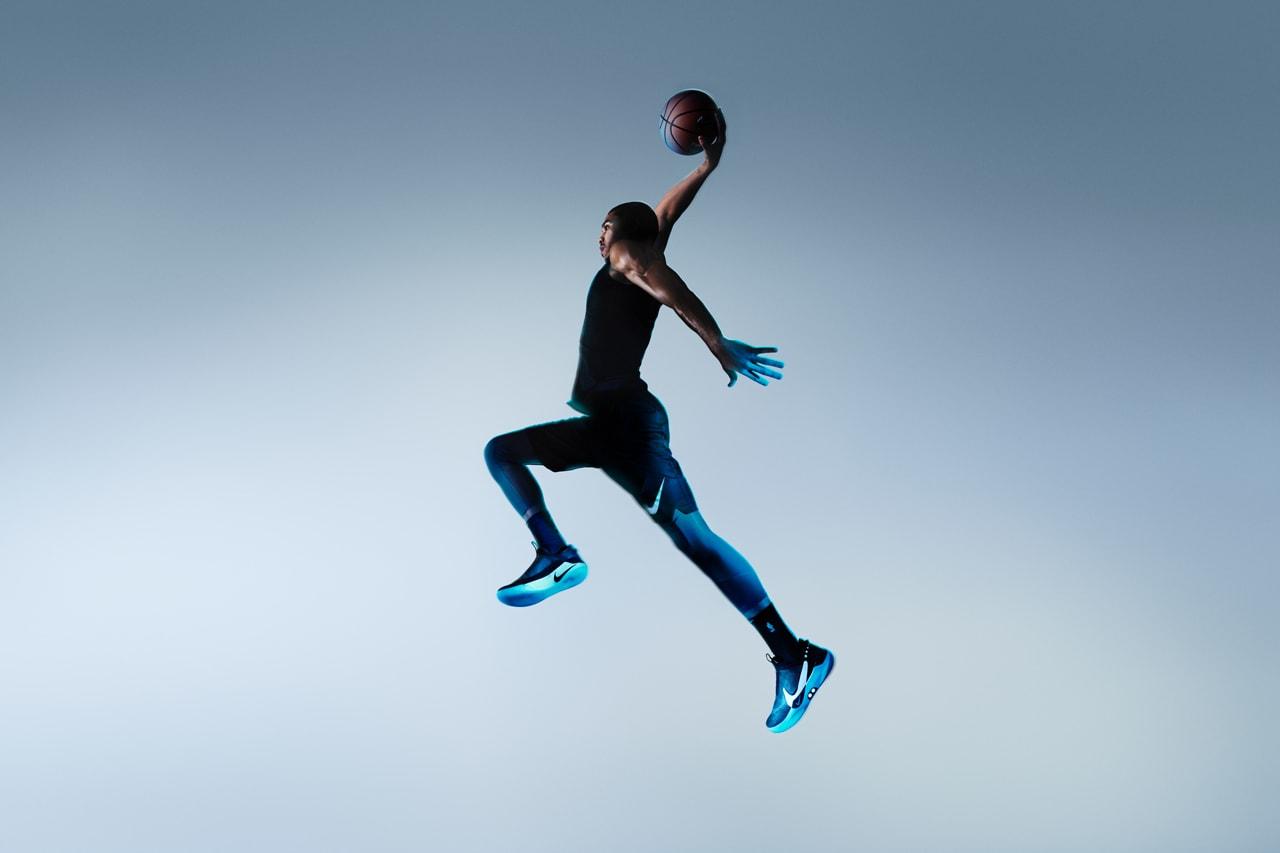 Nike Adapt BB Self Lacing Basketball Sneaker sneakers shoes fitadapt power app smartphone lights fit flywire flyknit jason tatum