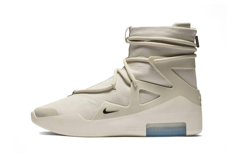 huge selection of 4c604 9f144 jerry lorenzo nike air fear of god 1 light bone black nike basketball 2019  january footwear