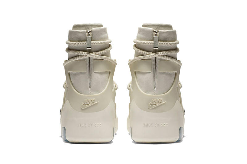 jerry lorenzo nike air fear of god 1 light bone black nike basketball 2019 january footwear