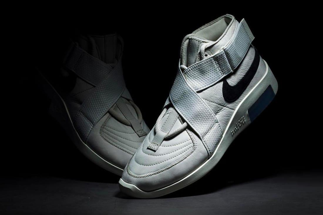 Nike Air Fear Of God 1 Bone Black Clean Look Hypebeast