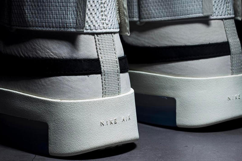 Nike Air Fear of God 180 Light Bone First Look Jerry Lorenzo Straps moccasin White Release Info Date
