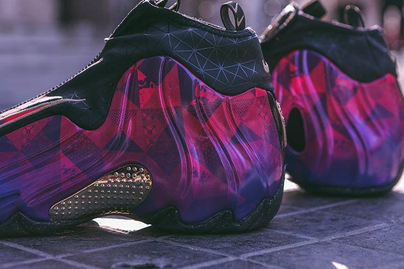 Nike Air Flightposite CNY 2019 image release date purple chinese new year