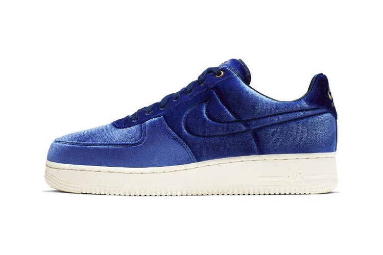 8a11e241d74e74 The Nike Air Force 1 Premium Now Comes in Velour