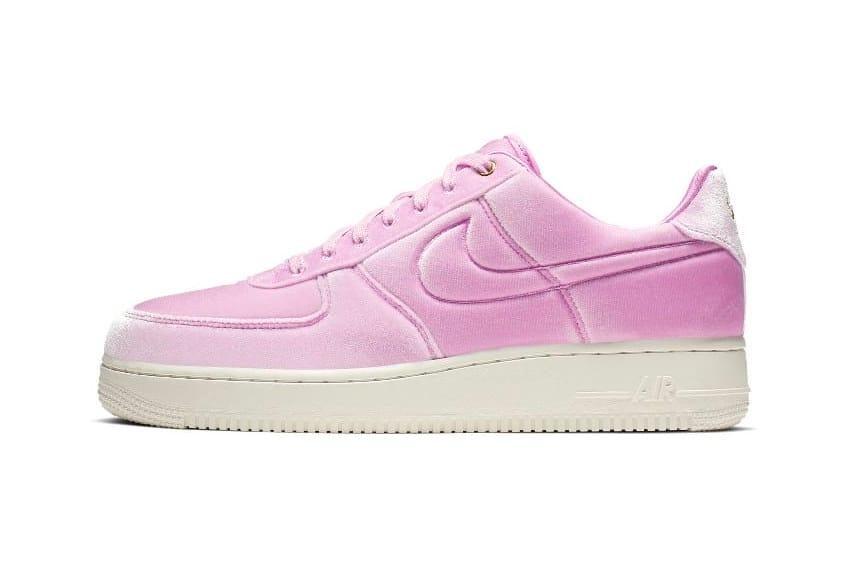 air force pink velvet