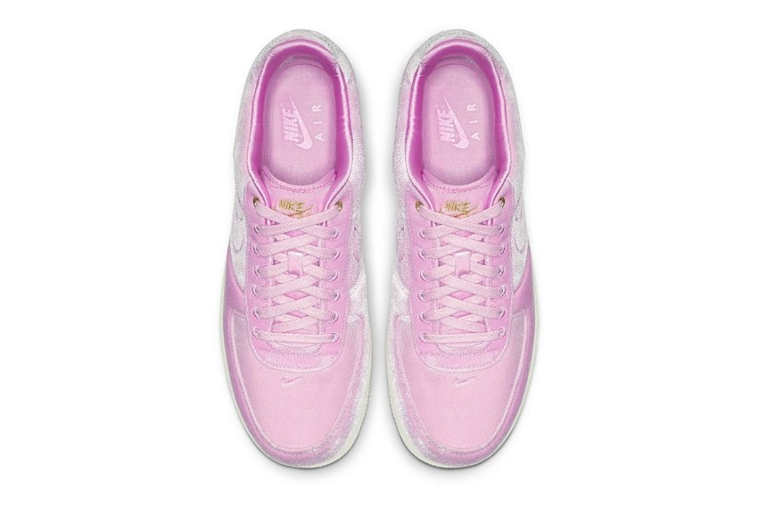 air force velvet pink