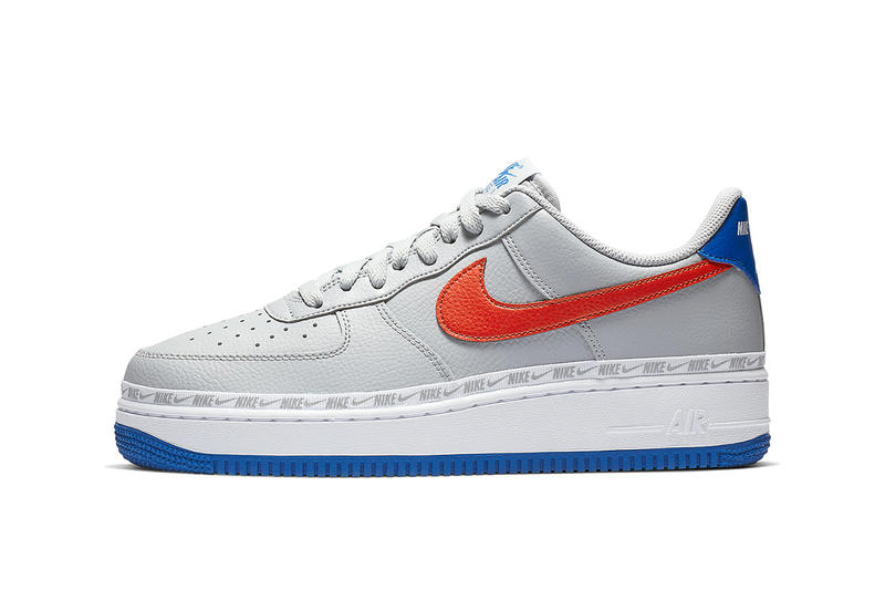 1b2a4bf4d3 A Closer Look at Nike's Knicks-Themed Air Force 1 Low ribboned red blue  white