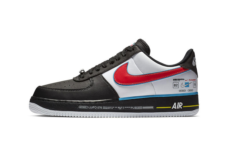 21fc0526ac5ad2 Nike Air Force 1 Racing All Star Weekend NBA Charlotte North Carolina Shoe  Details Sneakers Kicks