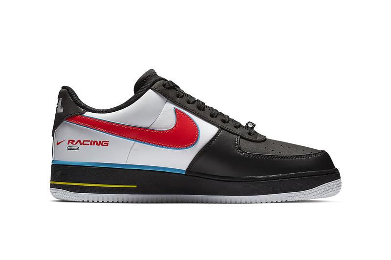 Nike Air Force 1 Racing All Star Weekend NBA Charlotte North Carolina Shoe Details Sneakers Kicks Trainers Shoes Footwear Cop Purchase Buy Release Info Information Details