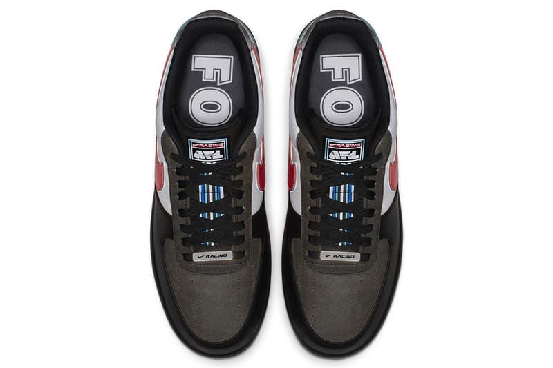 size 40 363ca 8aa05 Nike Air Force 1 Racing All Star Weekend NBA Charlotte North Carolina Shoe  Details Sneakers Kicks