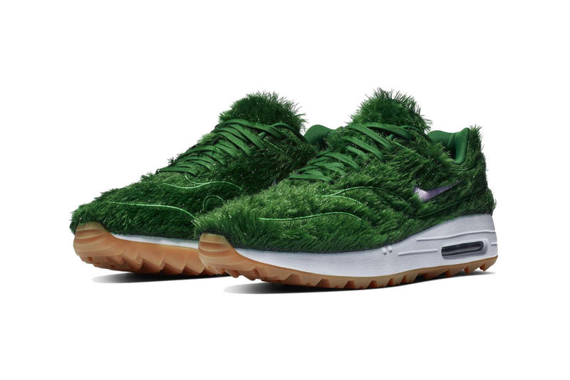nike air max 1 golf grass  2019 footwear nike sportswear green white gum
