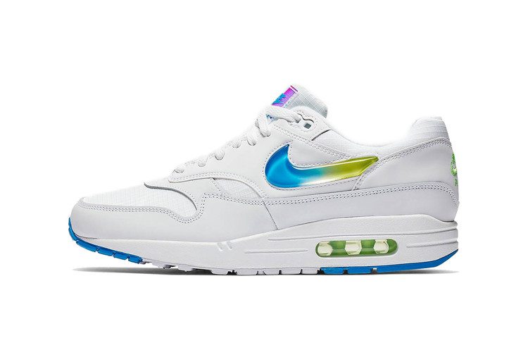 fb7c79af93 Nike Air Max 1 SE Is a Sure Standout With Colorful Gradient Swoosh