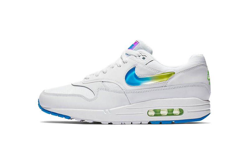 nike air max 1 se jewel white blue volt 2019 footwear nike sportswear