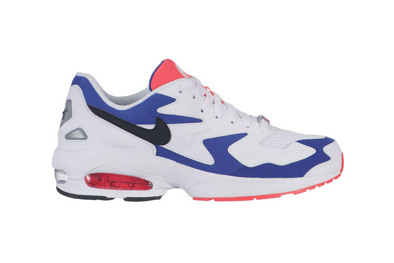 nike air max light 2 colorways triple white black habanero red blue purple release date info march april june drop buy runner