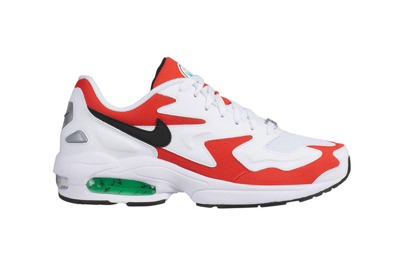 buy online 7f07f 88a4f nike air max light 2 colorways triple white black habanero red blue purple release  date info