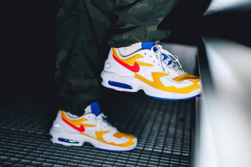 Nike Air Max 2 Light Yellow University Gold