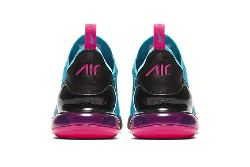 Nike Air Max 270 Blue turquoise Pink South Beach Release Info Date black