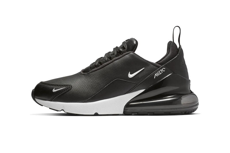 buy online 140ba 124f9 Nike Gives the Air Max 270 Trio a Leather Upgrade release drop date images  info price