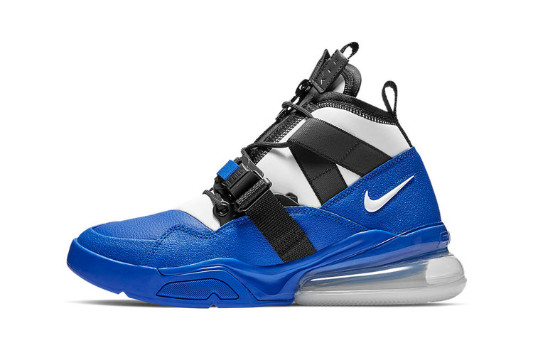 b1e7e7fb12 Nike Unveils Air Force 270 Utility in White, Blue and Black Colorway