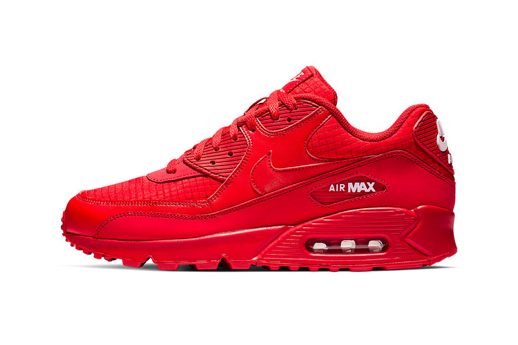 6924a7773088 Nike s Air Max 90 Gets an All-Red Makeover
