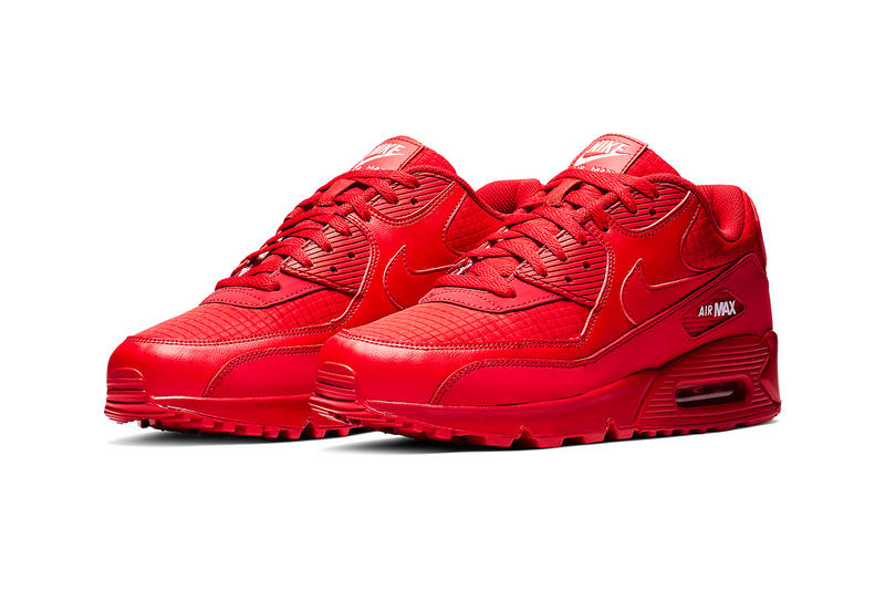 "Nike Air Max 90 ""All-Red"" Release 