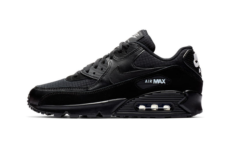 quality design 04e6a e2bc7 Nike Air Max 90 Essential Black   White Release nike swoosh air unit midsole