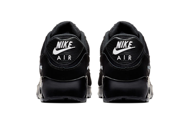 quality design 1f13c e1a67 Nike Air Max 90 Essential Black   White Release nike swoosh air unit midsole