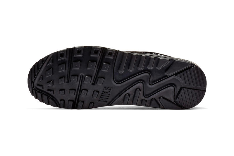d876a0180ec4 Nike Air Max 90 Essential Black   White Release nike swoosh air unit midsole