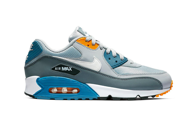 """Nike Air Max 90 """"Wolf Grey/Indigo Storm"""" Release Date january 2019"""