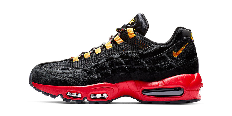 dd0c46a086ce Nike Air Max 95 Chinese New Year Sneaker Details