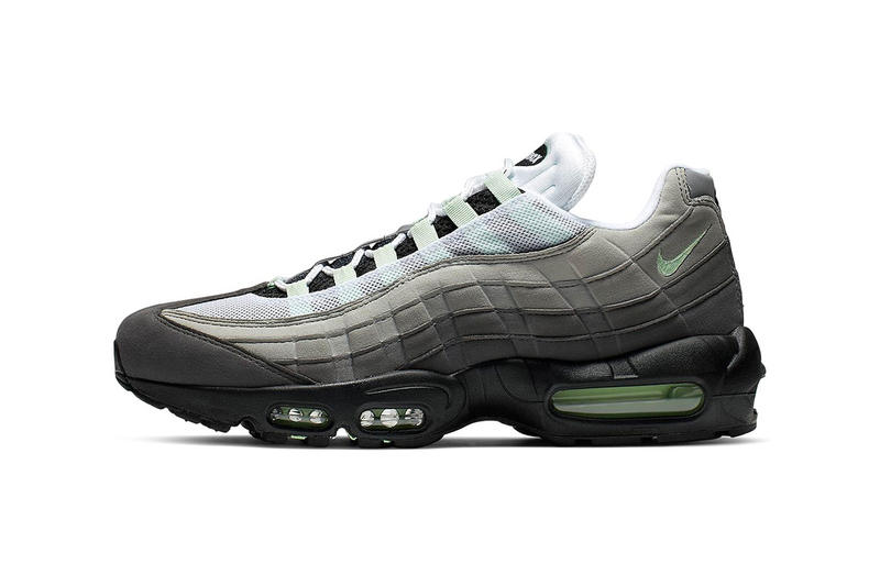 "Nike Air Max 95 ""Fresh Mint"" Release Info stockist pricing CD7495-101 ""White/Fresh Mint-Granite-Dust"" air max bubble unit sportswear swoosh"
