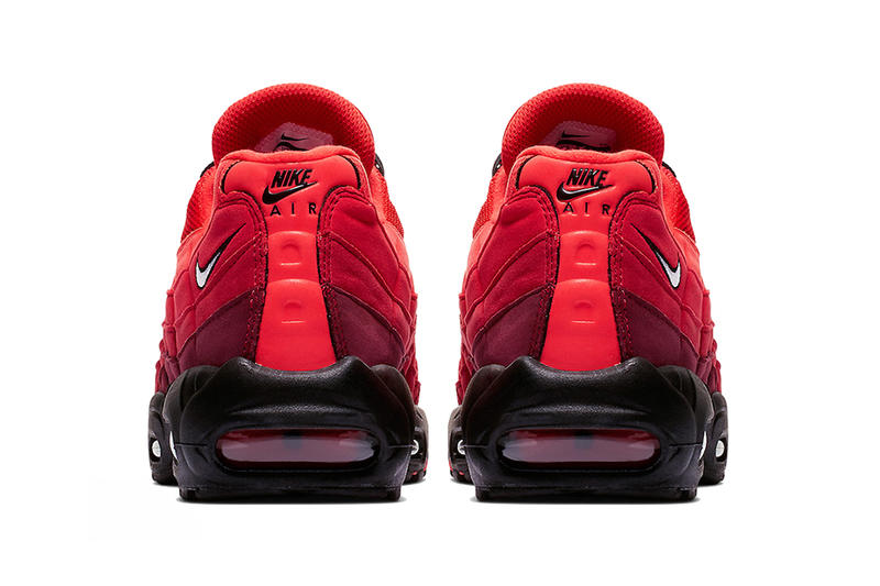 nike air max 95 habanero red black white 2019 spring footwear nike sportswear