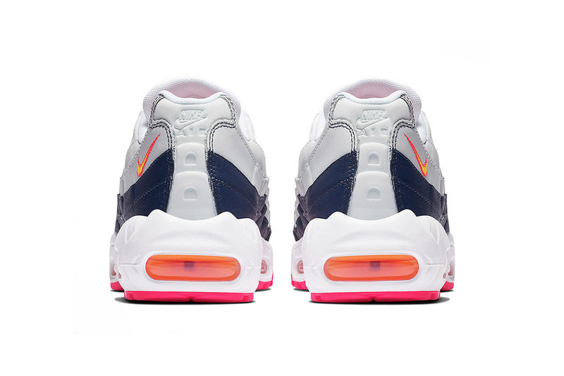 size 40 7a5ce ca4ad nike air max 95 midnight navy laser orange pure platinum 2019 february  footwear nike sportswear