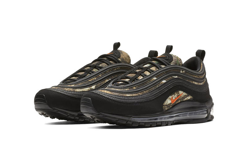 nike air max 97 real tree 2019 february footwear nike sportswear black team orange black
