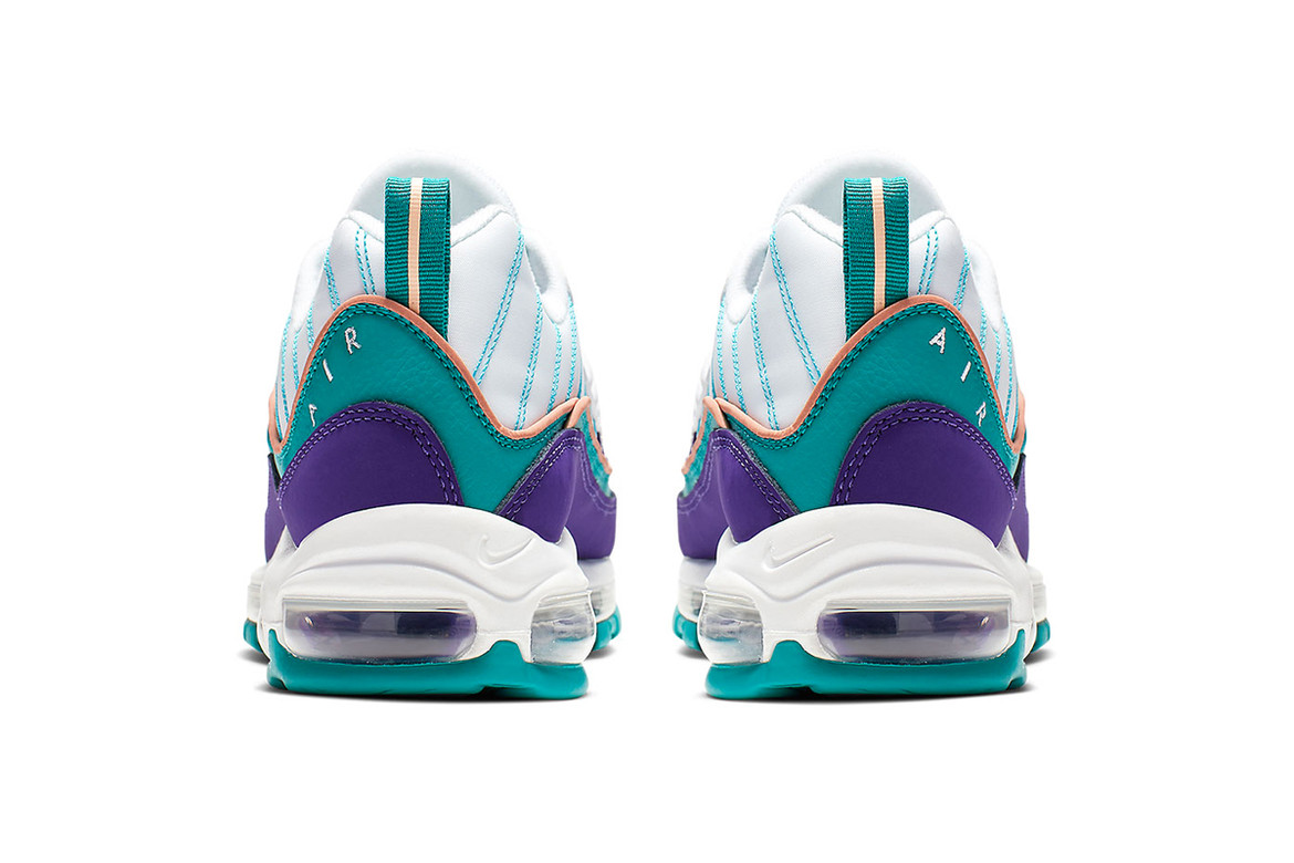 Nike Air Max 98 Charlotte Hornets Colorway  8299a438d