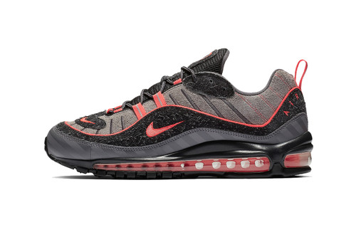 "Nike Air Max 98 ""Gunsmoke/Lava"""