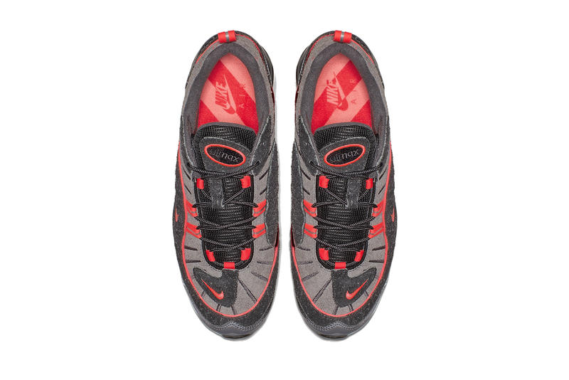 nike air max 98i 95 i95 pack collection gunsmoke lava grey gray red infrared bv6046-001 black